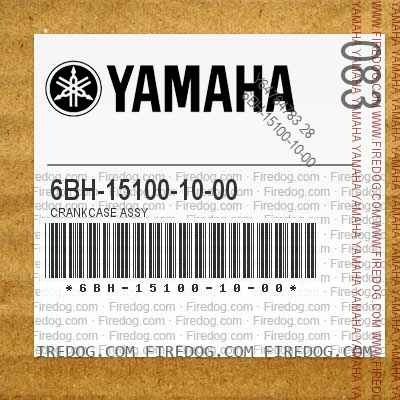 6BH-15100-10-00 CRANKCASE ASSY