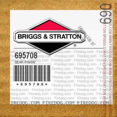 695708 Gear-Pinion