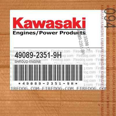49089-2351-9H SHROUD-ENGINE