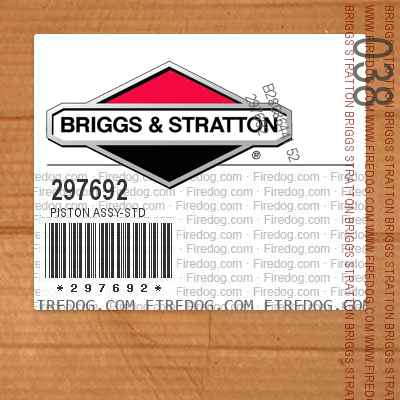 297692 Piston Assy-Std