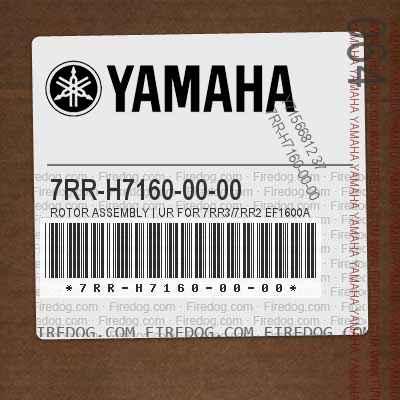 7RR-H7160-00-00 ROTOR ASSEMBLY | UR FOR 7RR3/7RR2 EF1600A