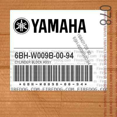 6BH-W009B-00-94 CYLINDER BLOCK ASSY